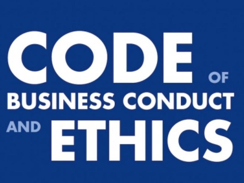 Training gedragscode / ethische code